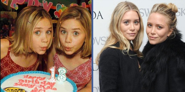 famosos-antes-despues-mary-kate-ashley-olsen